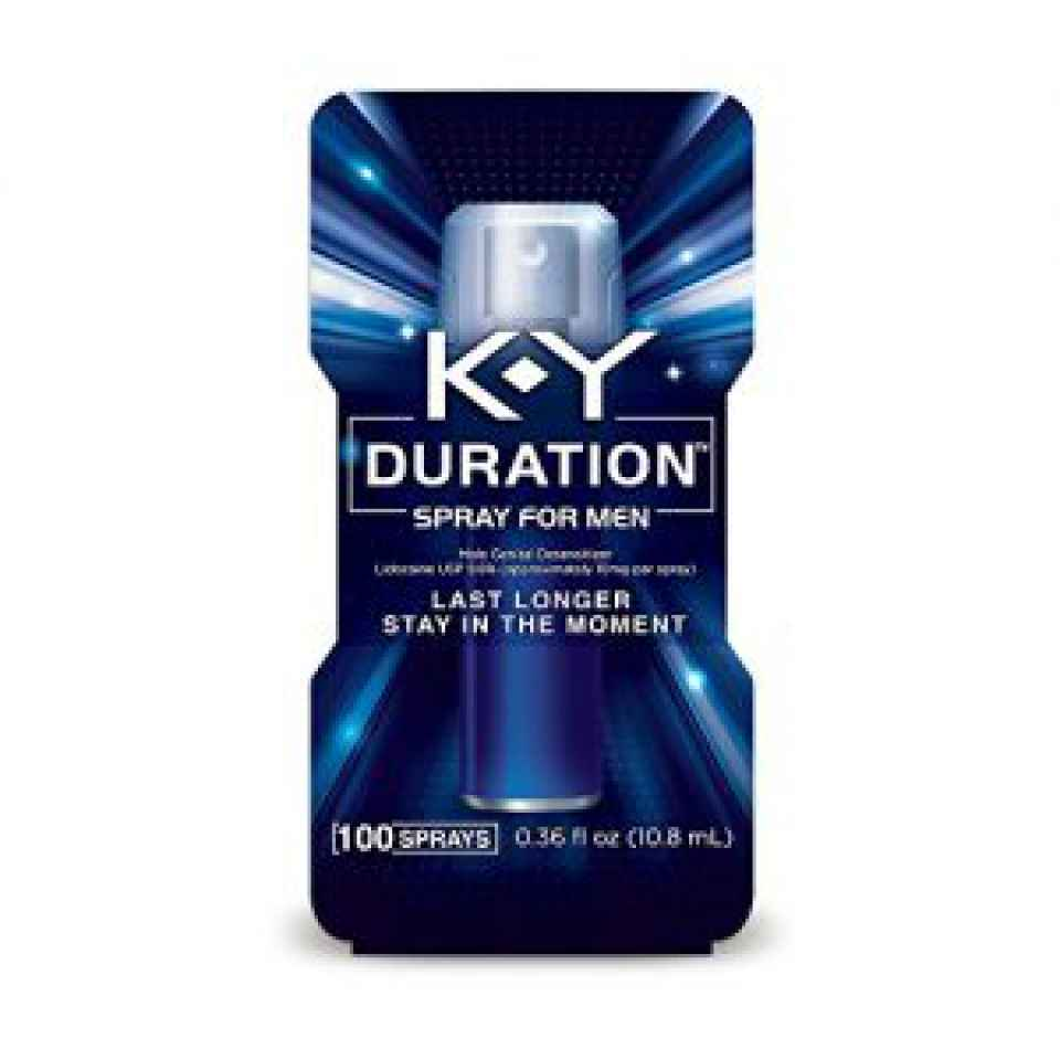 K-Y Duration Spray for Men - Last Longer and Stay in the Moment, 100 sprays / 0.36 fl oz > Angel Erotica > adult toys for sex for women
