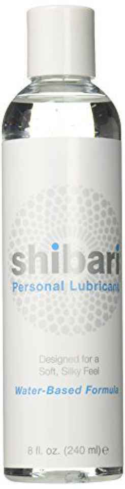 Shibari Premium Personal Lubricant, Water Based Lube, 8 Ounce Bottle > Angel Erotica > sexual wellness for woman