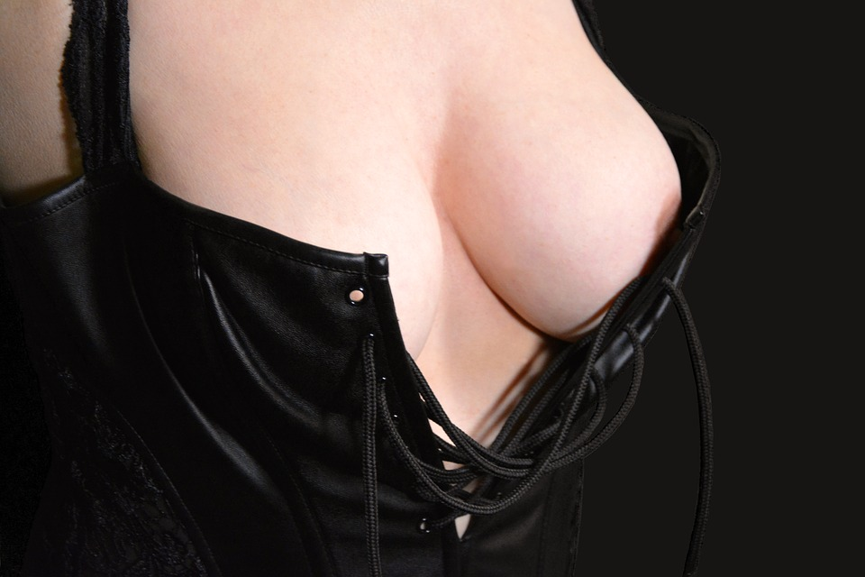 breasts, female, bustier
