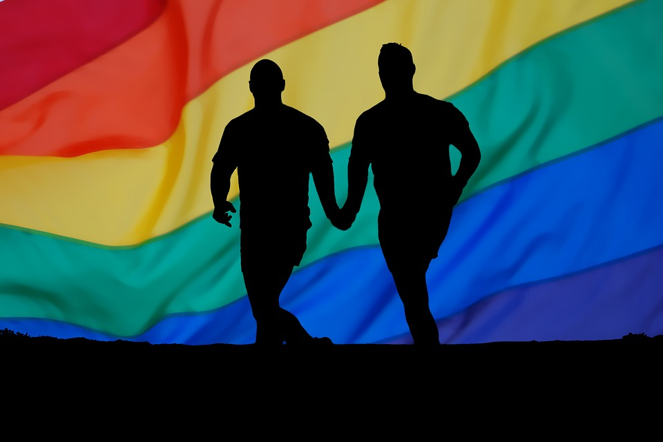 homosexuality rainbow man gay partner friendship hands heart love luck abstract relationship thank you greeting greeting card postcard background sky valentine's day romance romantic loyalty tender tenderness affection valentine happy gay gay gay gay gay