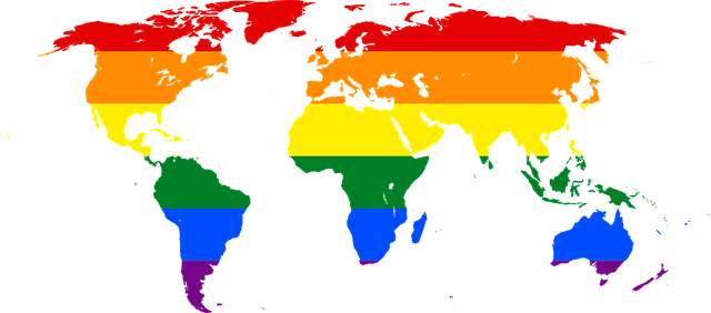 rainbow world map symbol lgbt glbt pride banner icon lesbian gay bisexual transgender lesbians gays movement equality wedding rainbow flag map of the world africa europe asia united states oceania continents international png gay gay gay gay gay transgender rainbow flag