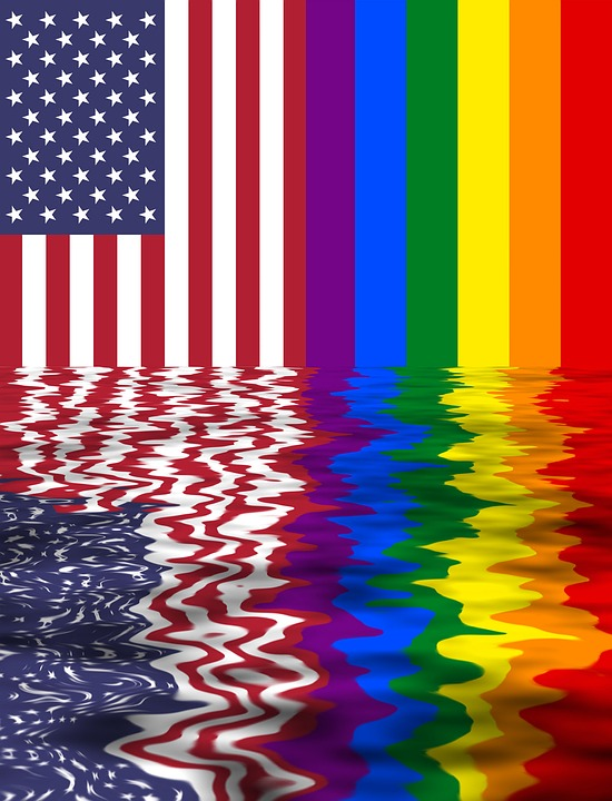 rainbow flag usa and lgbt two flags together pride glbt reflections mirror effect symbol united states of america american usa banner icon lesbian gay bisexual transgender lesbians gays movement equality wedding rainbow stars homosexual wallpaper rainbow flag rainbow flag rainbow flag rainbow flag rainbow flag gay gay transgender transgender transgender rainbow
