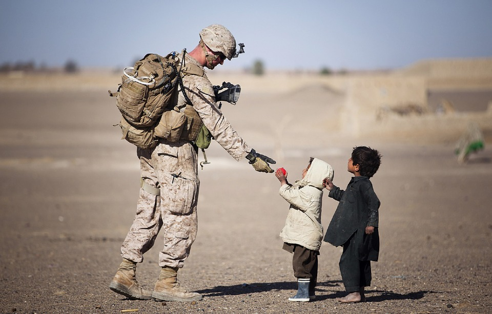 soldier military uniform american gifts children young kids people humanity poignant soldier soldier soldier military military military military children children kids kids people people people people people humanity