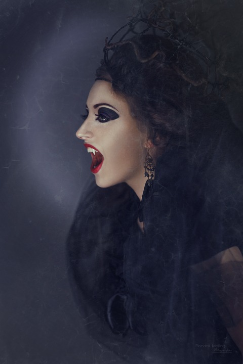 vampire creepy the witch sorceress mystical fairytale horror bite woman veil halloween beautiful girl scary makeup eyes lips tooth vampire teeth black gotish vampire vampire vampire vampire vampire